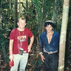 Podne u amazonijskoj prašumi pedesetak kilometara jugozapadno od Manausa